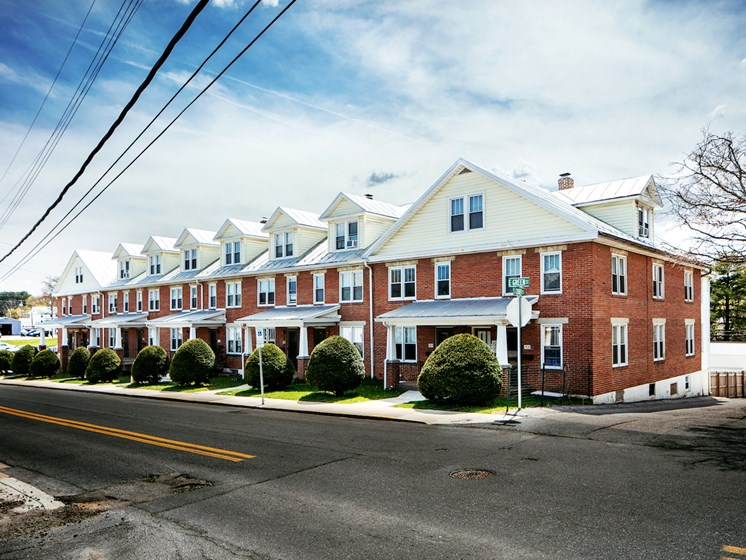 External Apartment View at Green Street Crossing, Westminster, Maryland