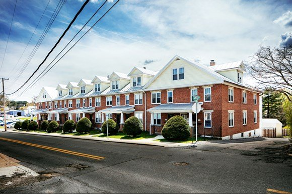 External Apartment View At Green Street Crossing Westminster Maryland