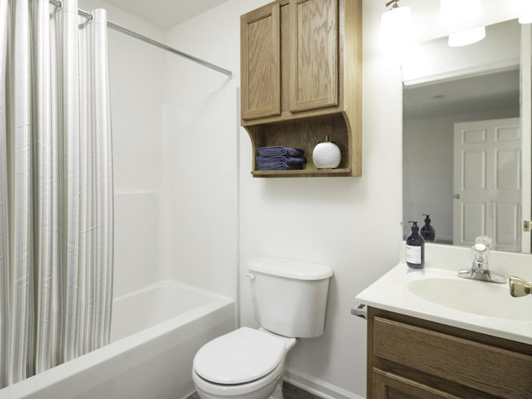Custom Vanity Lighting at St. Clair Terrace, Maryland, 21742