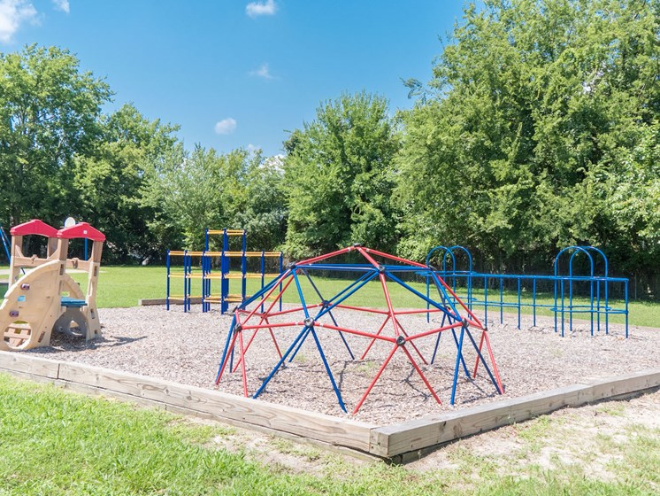 Play Area at Barrington Woods, Hampton, VA, 23669