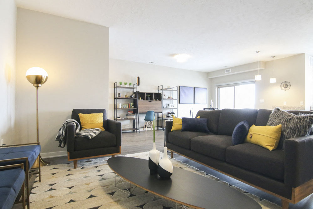 One Bedroom Apartment At WH Flats New Luxury Apartments In South Lincoln NE  68516