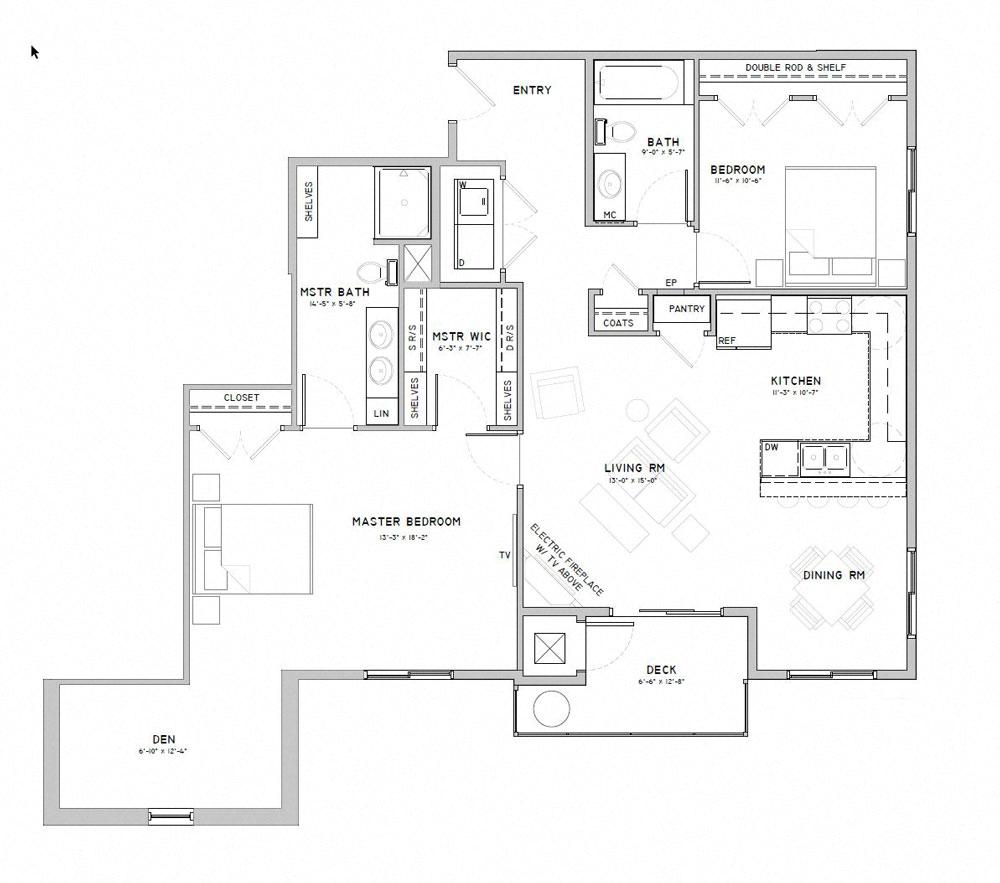 Studio, 1, 2, 3 Bedroom