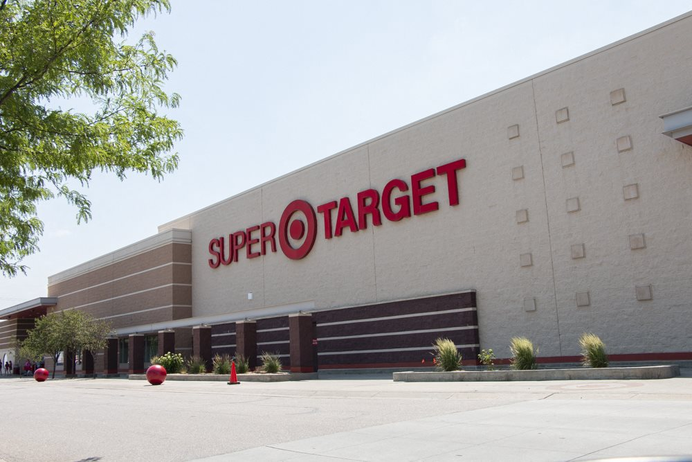 Exterior view of Super Target near WH Flats luxury apartments in south Lincoln NE 68516