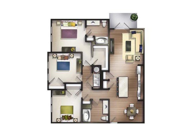Farmington Floor Plan 7