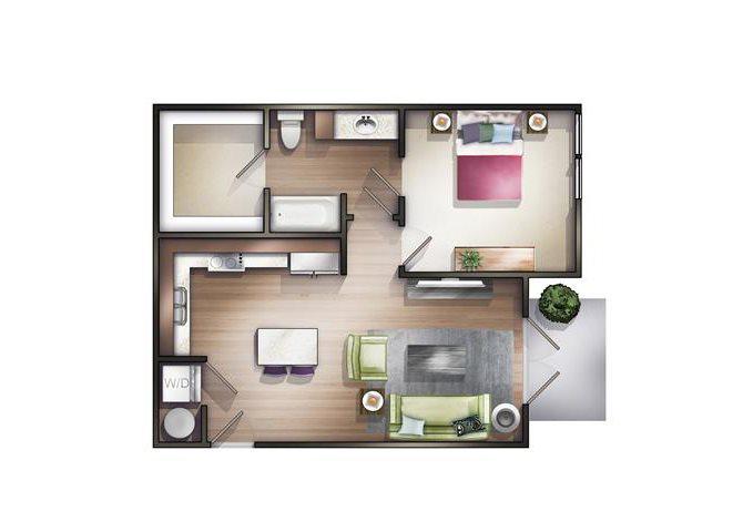 Millspring Floor Plan 1
