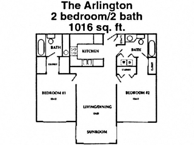 The Arlington Floor Plan 4