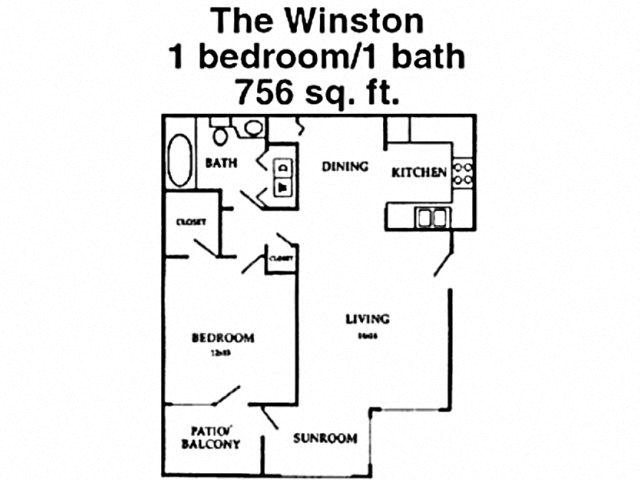The Winston Floor Plan 3