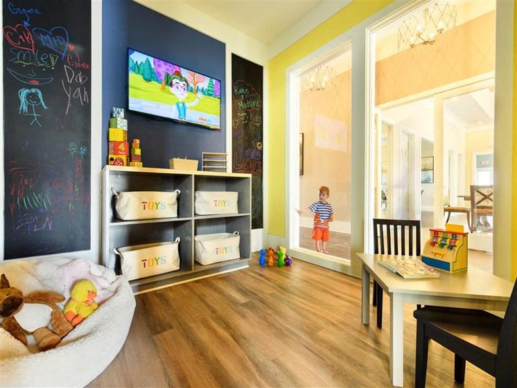 Children's activity room