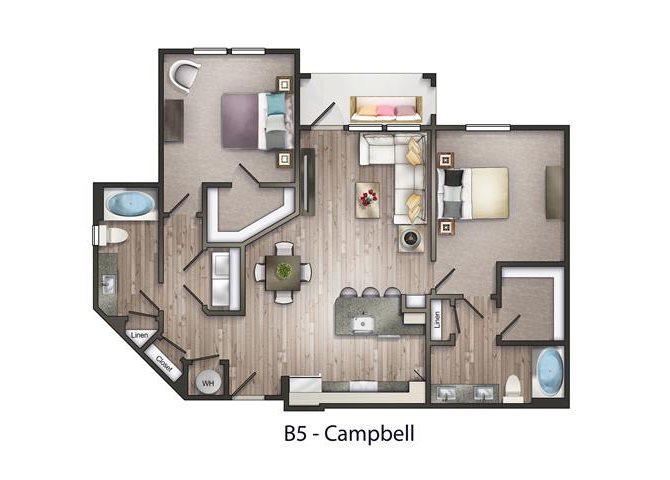 Campbell Floor Plan 9