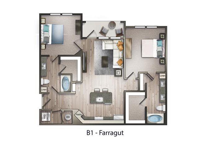 Farragut Floor Plan 5