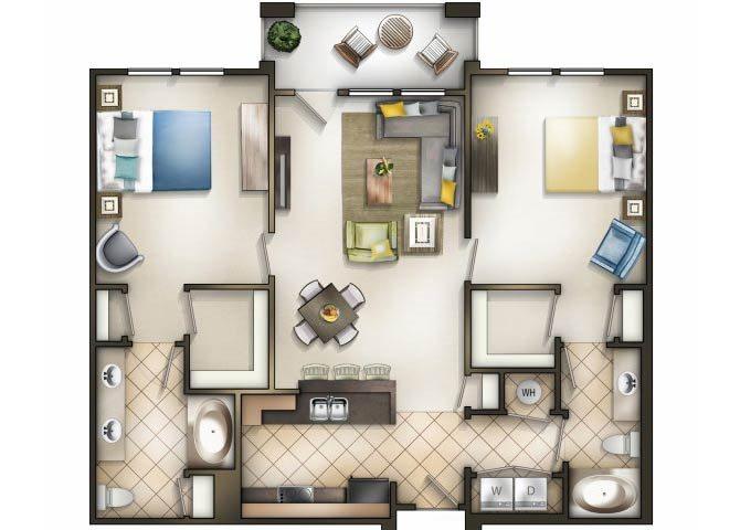 Cosmopolitan Floor Plan 2
