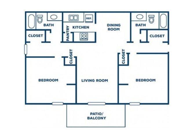 The Pine Floor Plan 6