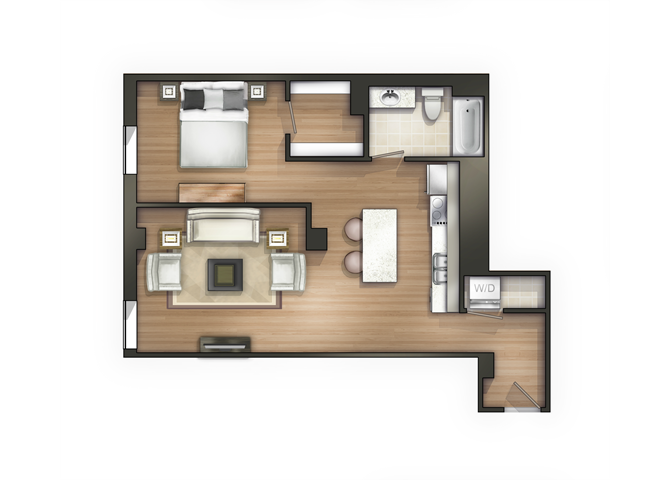 THE ADAMS Floor Plan 12