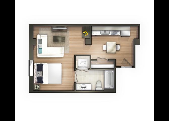 THE BEAUX ARTS Floor Plan 4
