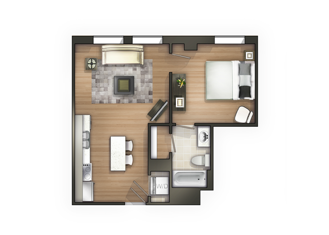 THE CORINTHIAN Floor Plan 5