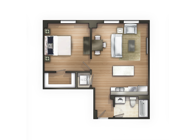 THE GAMBREL Floor Plan 9