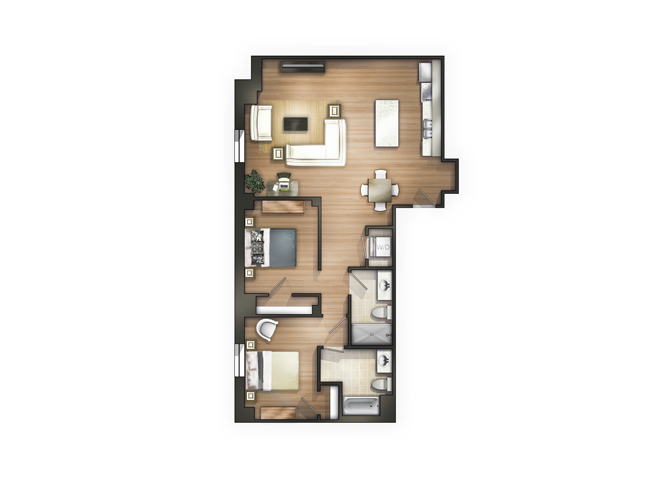 THE HAMPTON Floor Plan 18