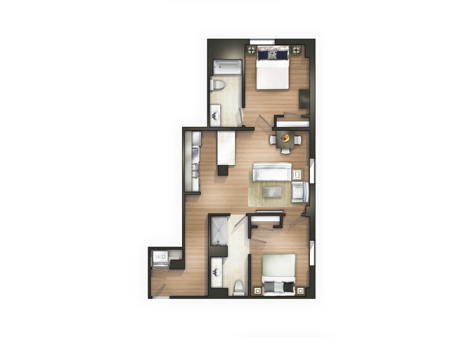 THE MARION Floor Plan 19