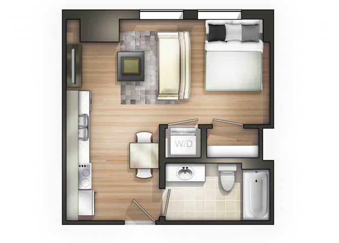 THE MODERNE Floor Plan 2