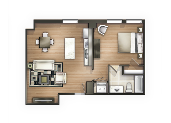 THE NEOCLASSIC Floor Plan 6