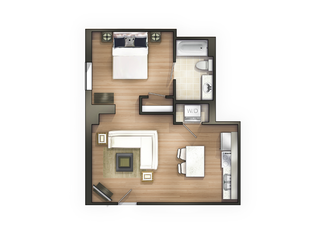 THE QUION Floor Plan 10