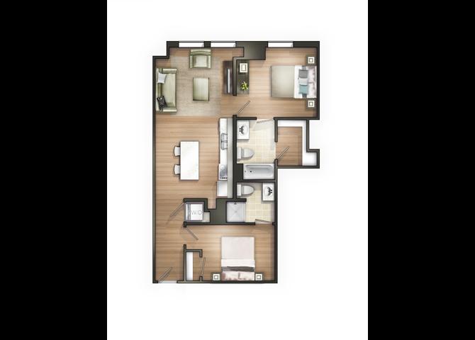 THE SKY Floor Plan 16