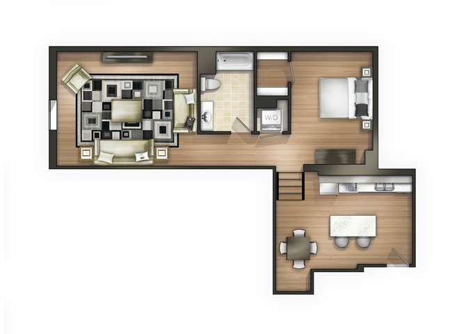 THE TAYLOR Floor Plan 13