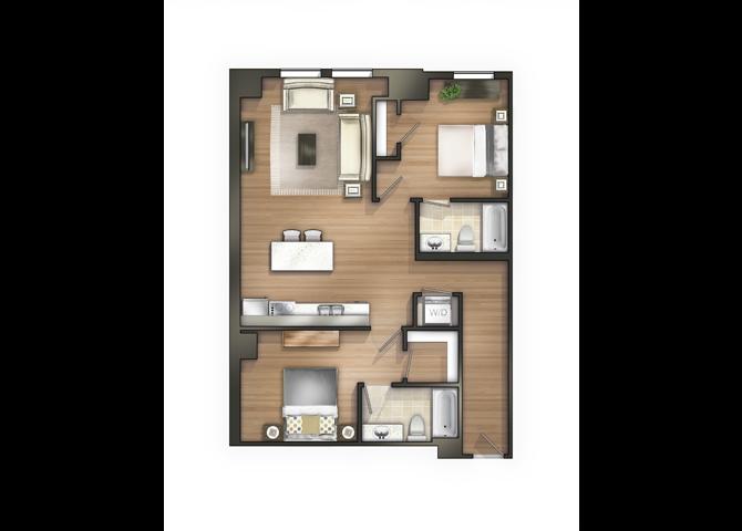 THE WILSON Floor Plan 15