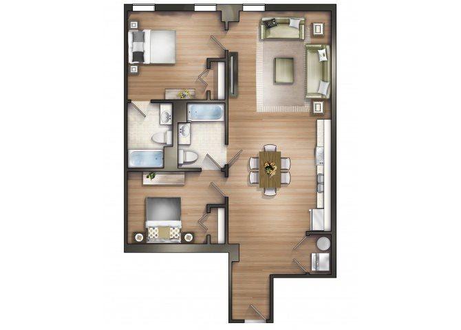 Hamilton Floor Plan 10