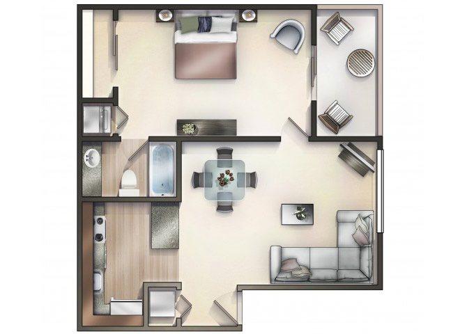 AZALEA (A) Floor Plan 3