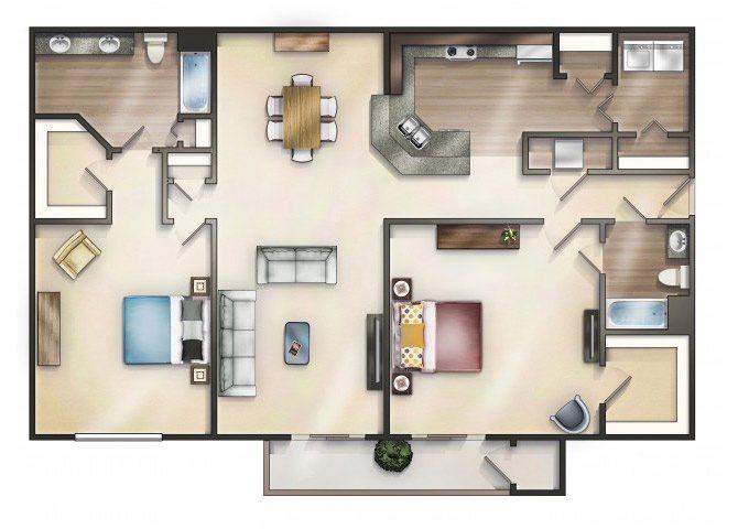 JUNIPER Floor Plan 12