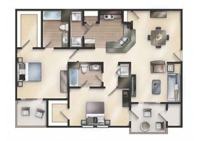 LILLY Floor Plan 13