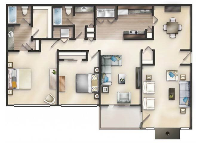 PEONY Floor Plan 14