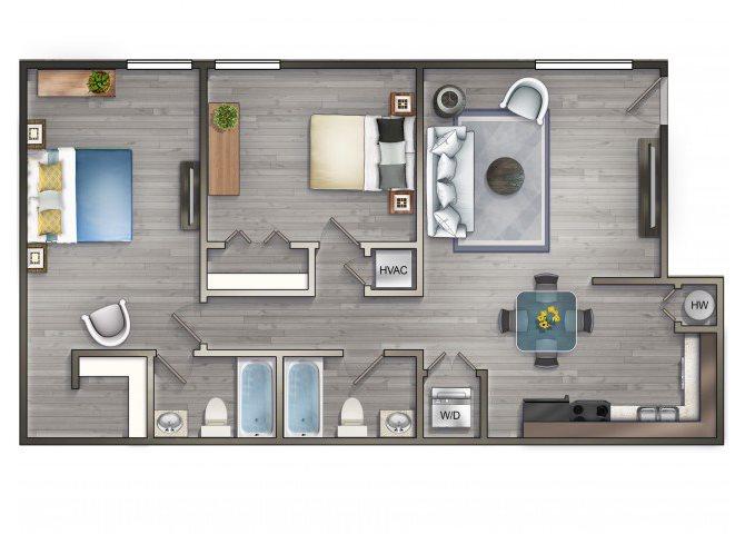 THE PORT Floor Plan 3