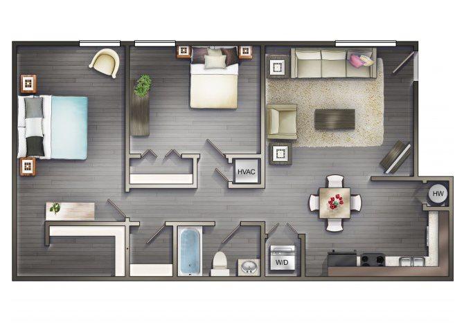 THE RIVERIA Floor Plan 4