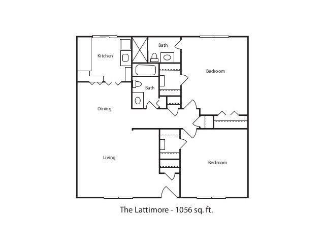 THE LATTIMORE Floor Plan 6