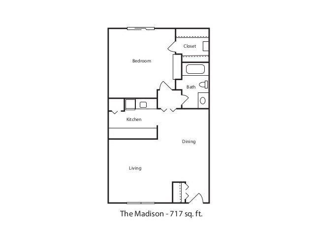 THE MADISON Floor Plan 2