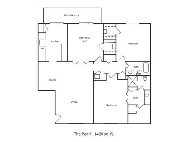THE PEARL Floor Plan 8