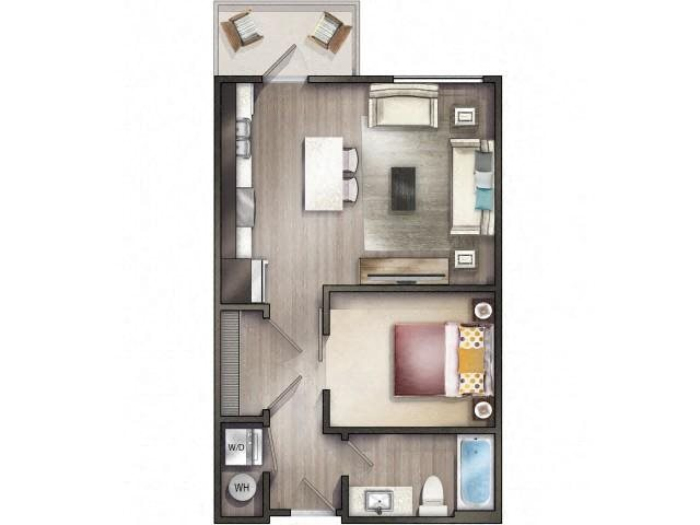 GREENBRIER Floor Plan 1