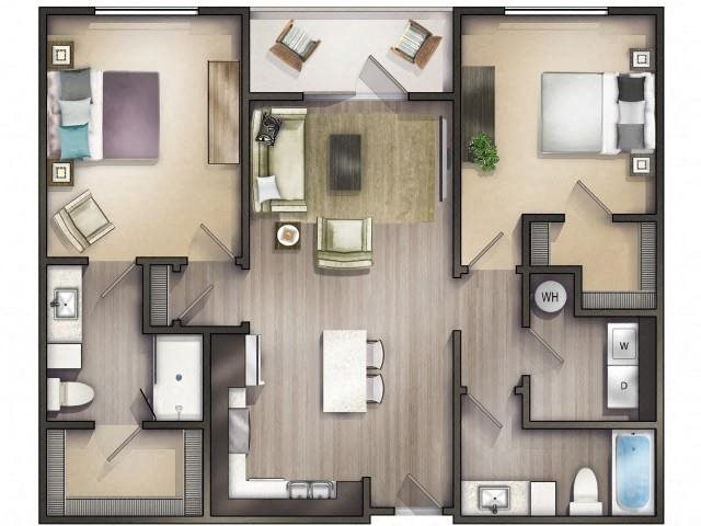 Swamp Rabbit Floor Plan 4