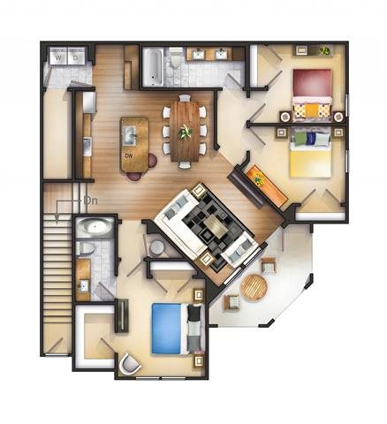 Quintanna Roo Floor Plan 15