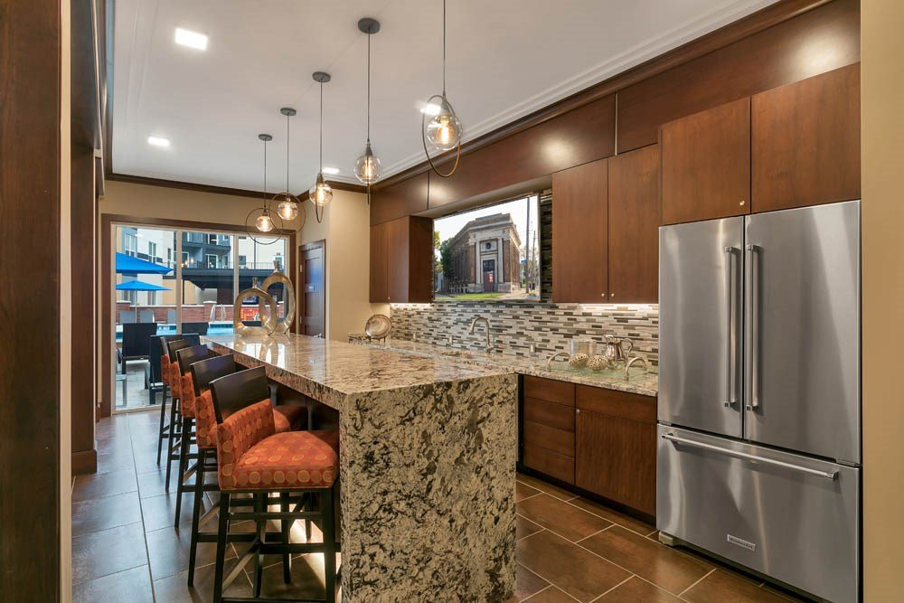 Luxury community kitchen great for entertaining guests