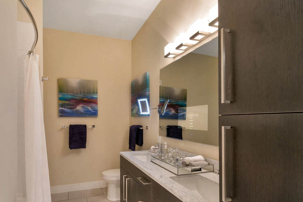 Bathroom interior by The Aster