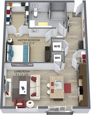 The burdock floor plan by The Aster