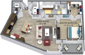 The shasta floor plan by The Aster