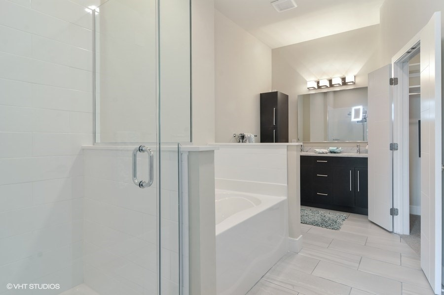 Inside bathroom interiorby The Aster