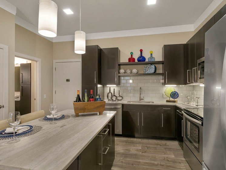 Kitchen countertops by The Aster