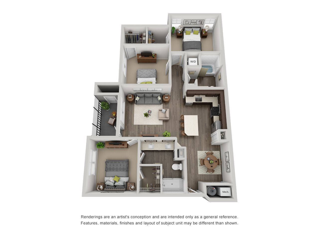 Light Floor Plan 5