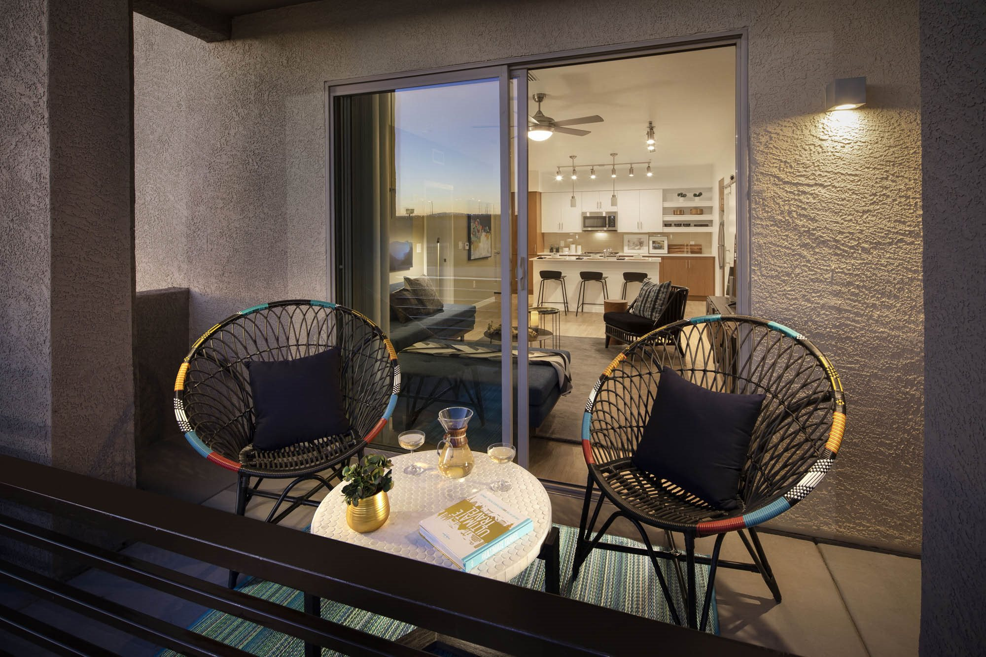 Private Patios & Balconies