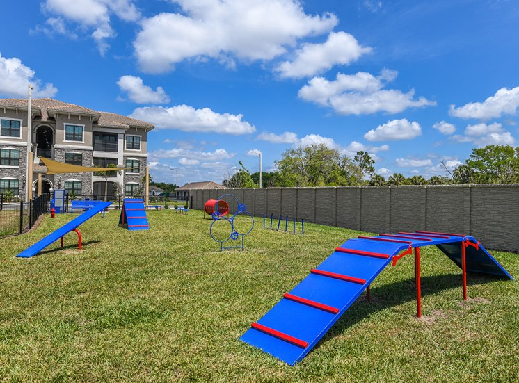 Pet park for dogs at Anson on Palmer Ranch in Sarasota, FL
